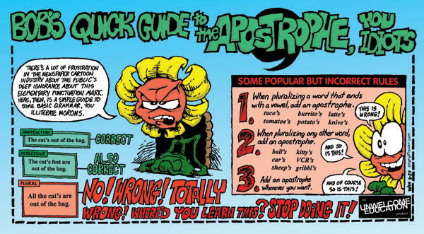 Angry Flower – Apostrophe