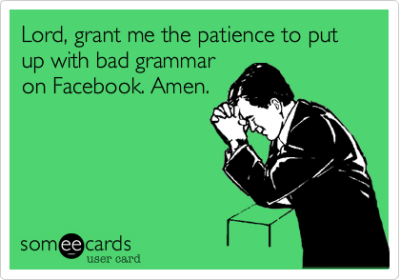 Grammar On Facebook