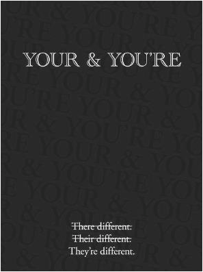 Your You're Different
